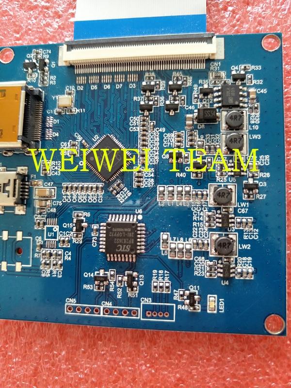 HDMI top MIPI controller board for wanhao D7 duplicator 7 3D printer Driver  Board