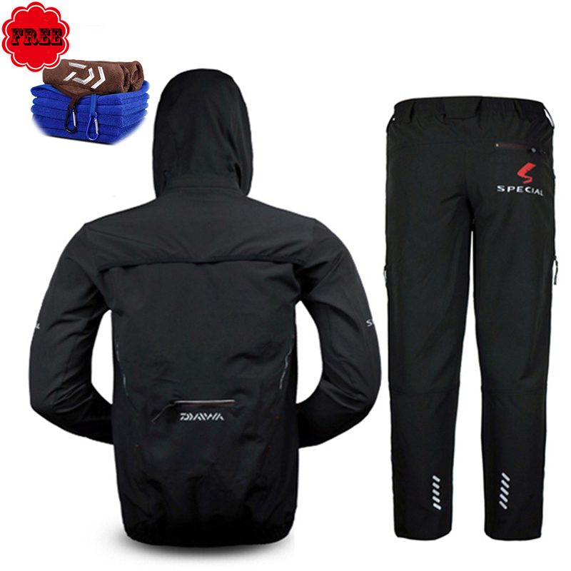 Men Fishing <font><b>Clothing</b></font> <font><b>UV</b></font> Protection Moisture Wicking Breathable Jacket Pants Coat Suit For Mountaineering Trekking Pesca