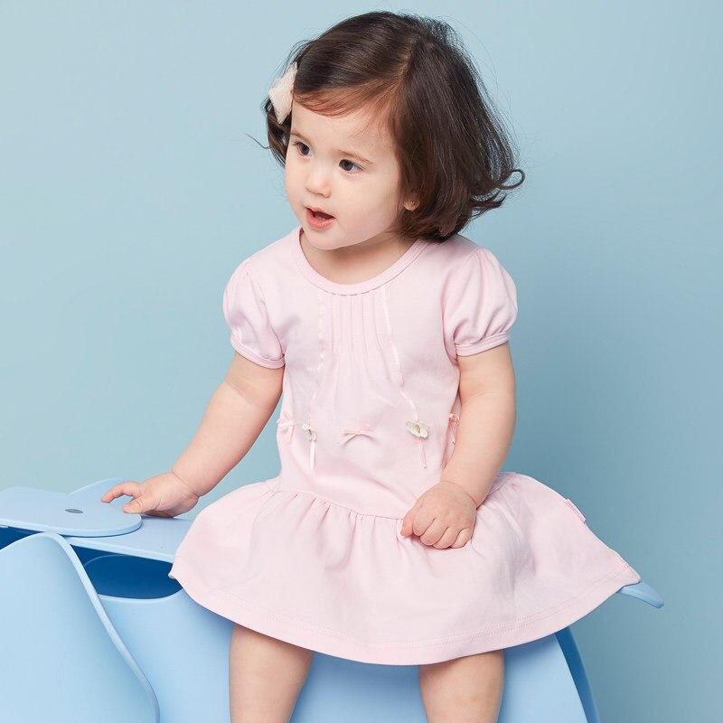 dc50b057d 2016 الصيف فستان طفلة اللباس ملابس لل طفل مولود جديد الرضع عقد الطفل ابنة  فساتين للأطفال ملابس أنيقة