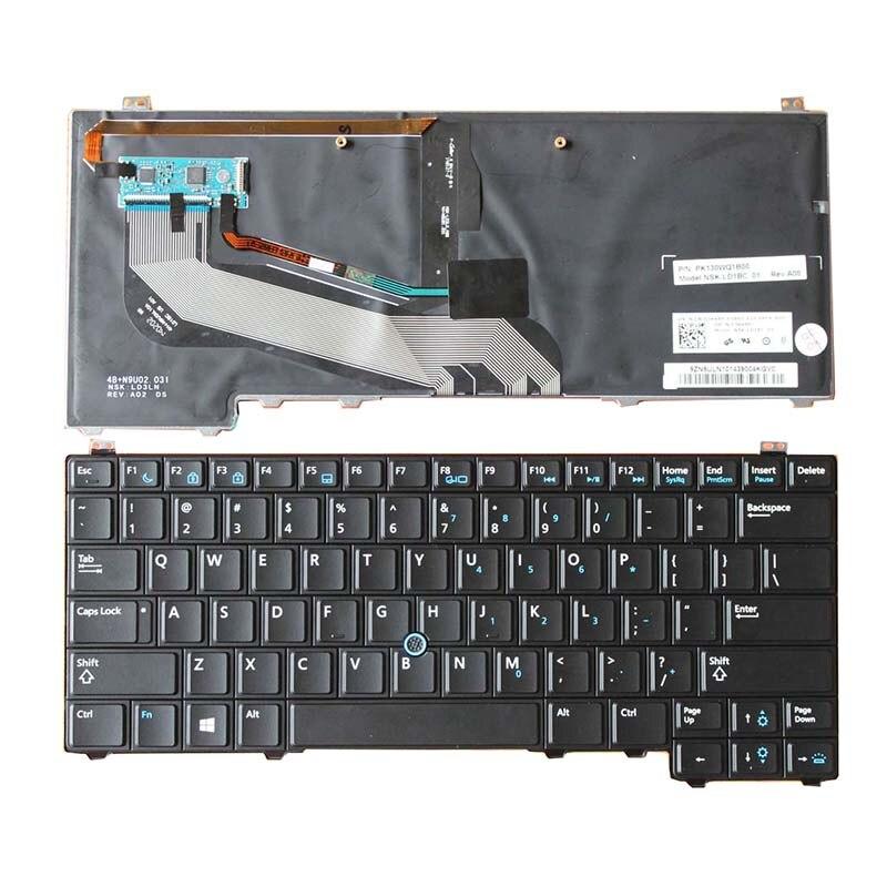 Genuine Dell Latitude E5440 US Laptop Keyboard 0Y4H14 NO Pointer NO backlit