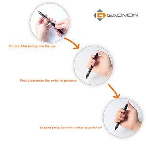 Image 5 - GAOMON Professional Graphic Tablet for Drawing Pen 2048 Levels ArtPaint AP10 Stylus for GAOMON S56K/M106K/ Huion 420/