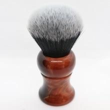 Pánská holicí štětka s rukojetí na pryskyřice Nylon pro muže Clearance Beard Profesionální holič čističe obličeje Razor Brusný nástroj na holení