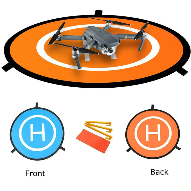 Universal Waterproof Mini Portable Landing Pad Helipad For Racing Drone Accessories RC Drone Launch Pad Quadcopter Helicopter drone helipad