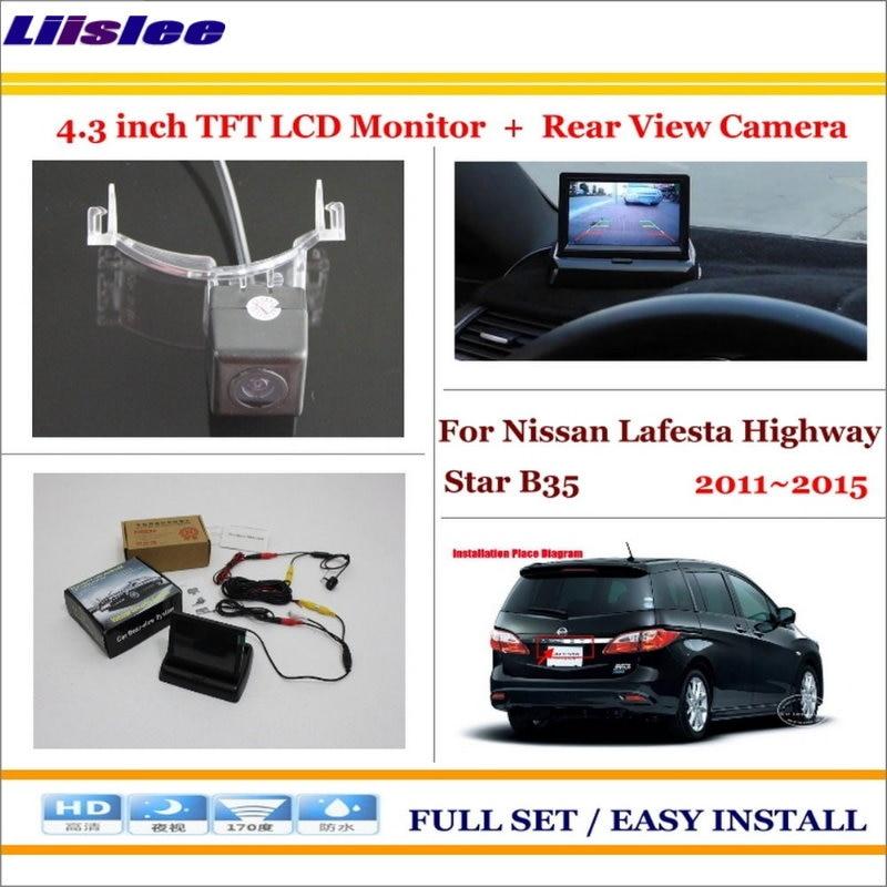 Liislee pour Nissan Lafesta autoroute Star B35 2011 ~ 2015 4.3
