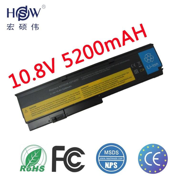 купить HSW oem 6cells new rechargeable laptop battery for ThinkPad X200 X200S X201 X201S X201i 42T4534 42t4543 42T4650 43R9254 43R9253 онлайн