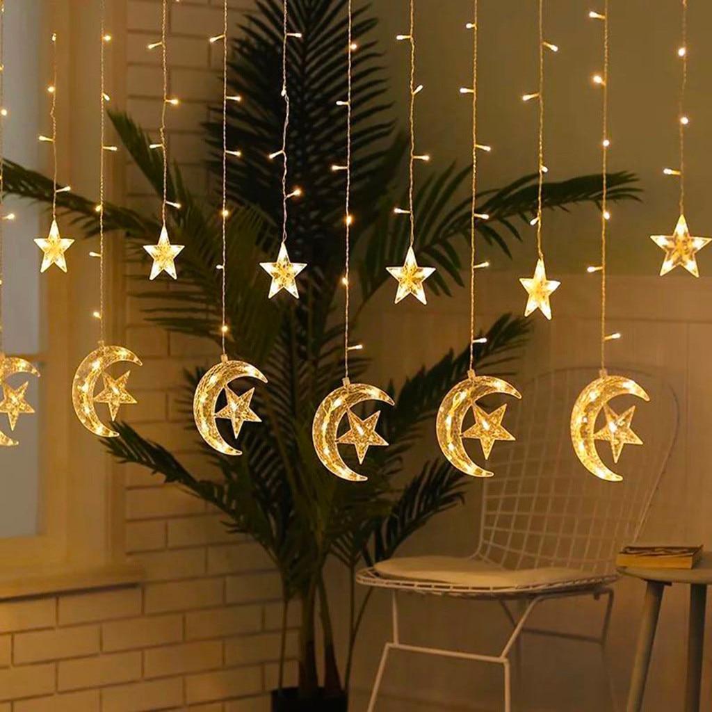 2020 new ramadan festival star lights led string li C5A2