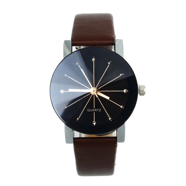 Casual Watches Women Leather Strap Bayan Kol Saat Analog Female Hour Ladies Quar