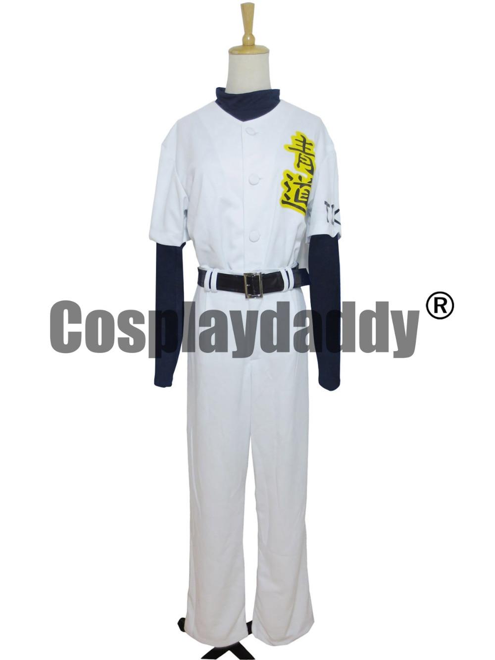 New Ace of Diamond Daiya Eijun Sawamura Satoru Furuya baseball jerse Cos