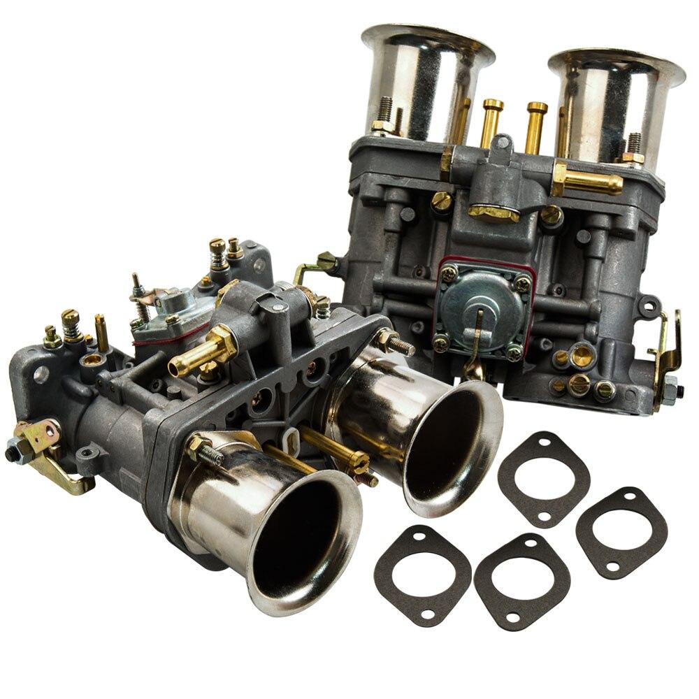 2 pièces carburateur pour Bug Volkswagen coccinelle VW Fiat Porsche avec klaxon d'air 44 tsahal pour Bug/coccinelle/VW/Fiat/Porsche jet 44-idf