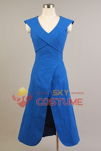 Blue Daenerys Targaryen Halloween Costume