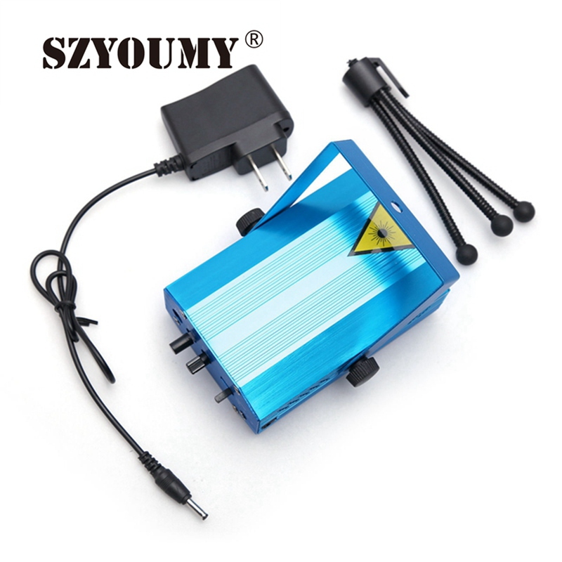SZYOUMY 4 In 1 5 in 1 6 IN 1 Mini Automatic Control Laser Projector Light Lighting Disco Stage Xmas Party Show Club Star Bar rg mini 3 lens 24 patterns led laser projector stage lighting effect 3w blue for dj disco party club laser