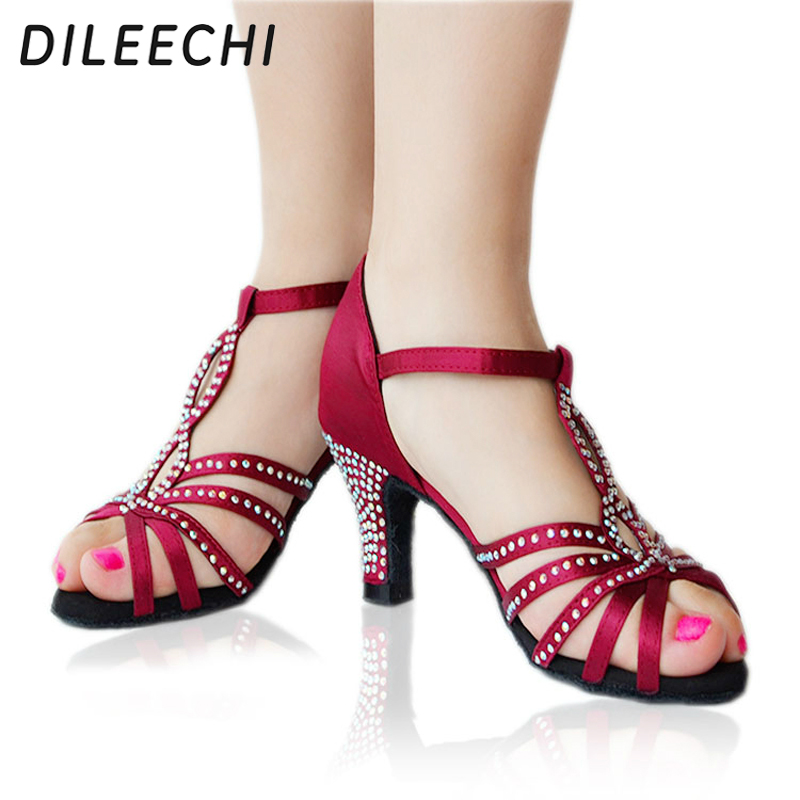 Red Bottom Diamond Shoes