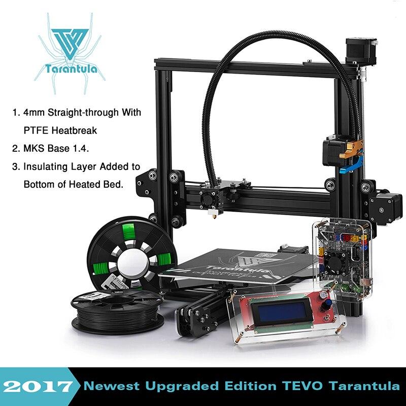 2017 Newest Tevo Tarantula 3d printer reprap prusa I3 DIY 3D Printer Kit with Auto levelling & Dual and 2 Flex filament Extruder 2017 newest tevo tarantula prusa i3 3d printer diy kit