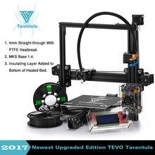Newest Tevo Tarantula 3d printer reprap prusa I3 DIY 3D Printer Kit with Auto levelling & Dual  and Flex Extruder Large bed