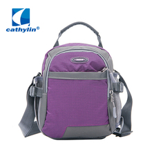 Cathylin 2016 hot neutral classic canvas shoulder bag simple style Messenger bag high quality package