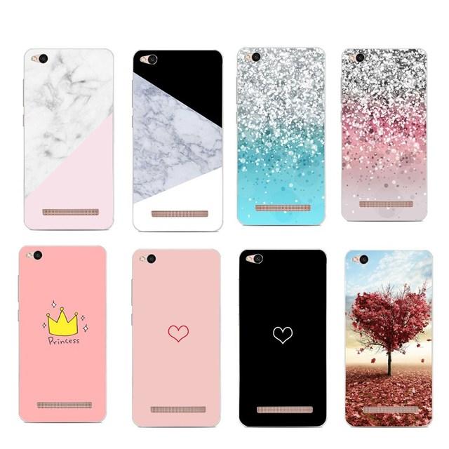 Funda de purpurina para capinha para xiomi Redmi Note 3 4 4X 5A funda de lujo hermosa funda de teléfono suave para xiaomi Redmi 4X Fundas
