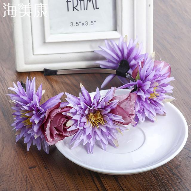 Boho Flower Romantic Headband