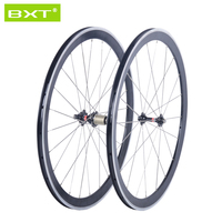 BXT Road Wheels 700C Front 24 38 50 60mm Rear 38 50 60 88mm Tubular And