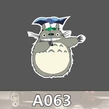 A-063 Totoro Wasserdicht Mode Kühle DIY Aufkleber Für Laptop Gepäck Skateboard Kühlschrank Auto Graffiti Cartoon Aufkleber