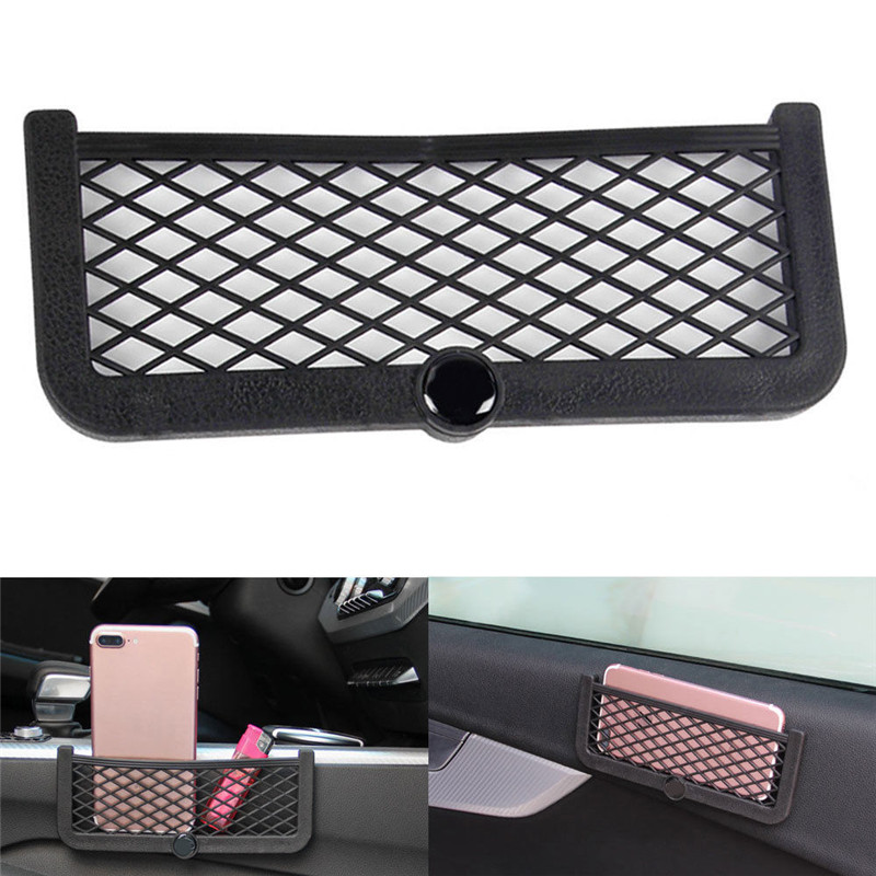 BBQ FUKA Car Storage Mesh Net String Phone Bag Holder Organizer Car font b Interior b