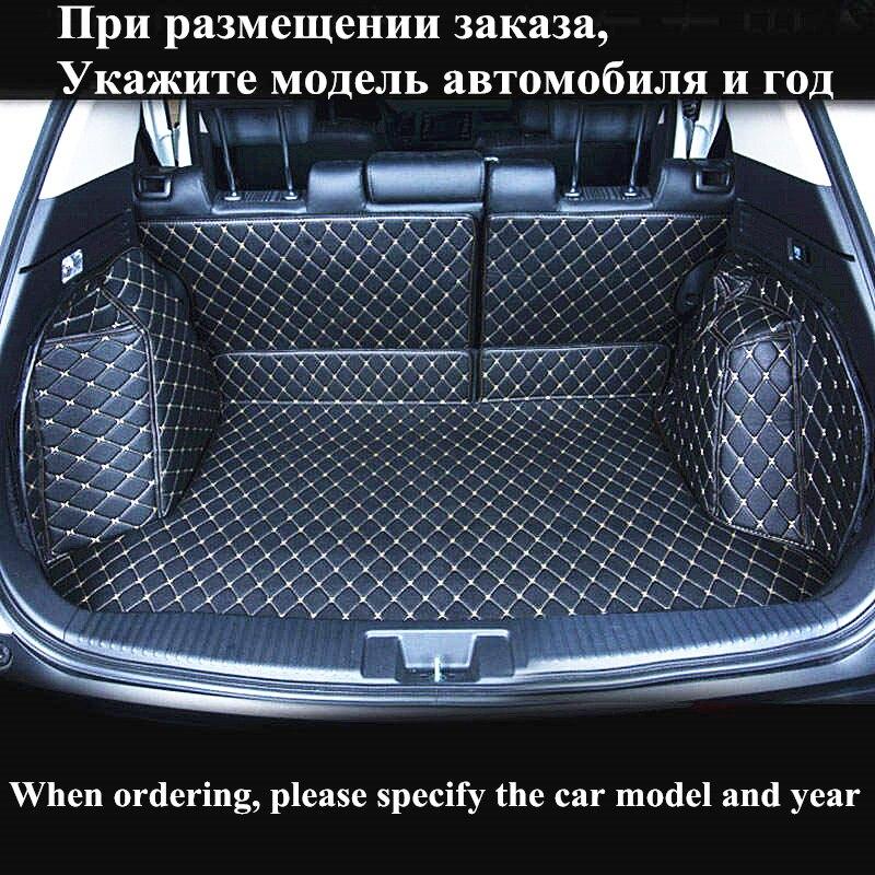 TENGRUI Custom Cargo Liner Car Trunk Mat for BMW x1 x3 x4 X5 X6 M4 M5 M6 2010 2012 2014 2017 2018 years Auto Trunk Mats