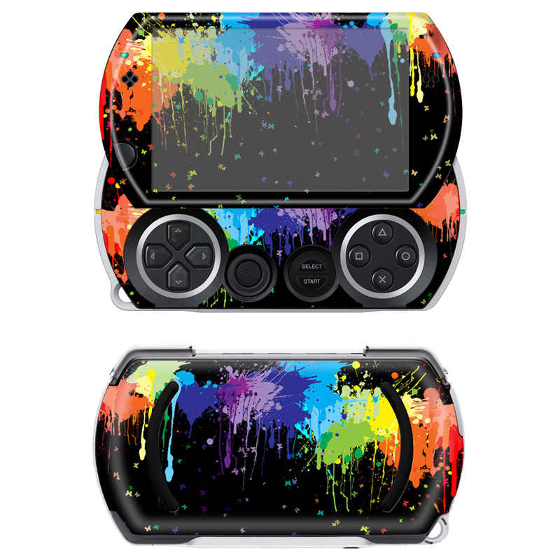 Free drop shipping Cool decorative skin sticker for Sony PSP Go vinyl decals game sticker for psp go #TN-PGO-511