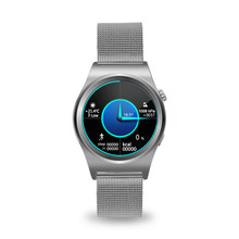 Новый x10 smart watch with lcd hd полный круг дисплей smartwatch Bluetooth 4.0 Мониторинг Сна Для Android 4.3 и IOS 7.0 PK S2