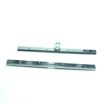 19cm Long Silver Finish Purse Frame Clutch Bag Frame