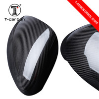 100% Real Carbon Fiber Cover Style Car Rearview mirror refiting for Porsche Cayenne Car styling