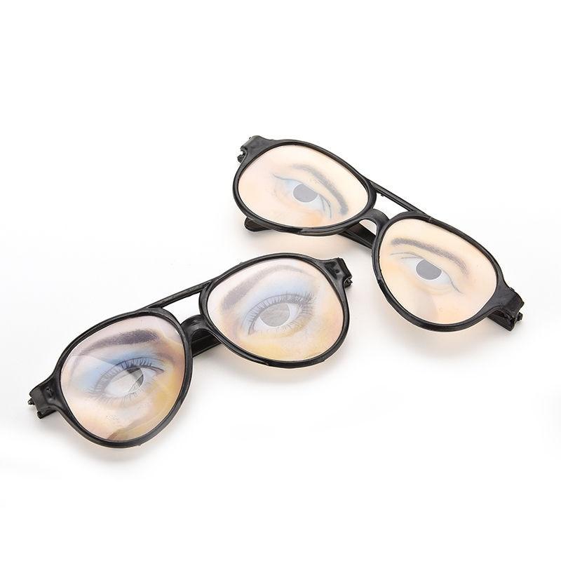 Funny Glasrahmen Augen Frames Unfug Gag Spielzeug Männer Frauen ...