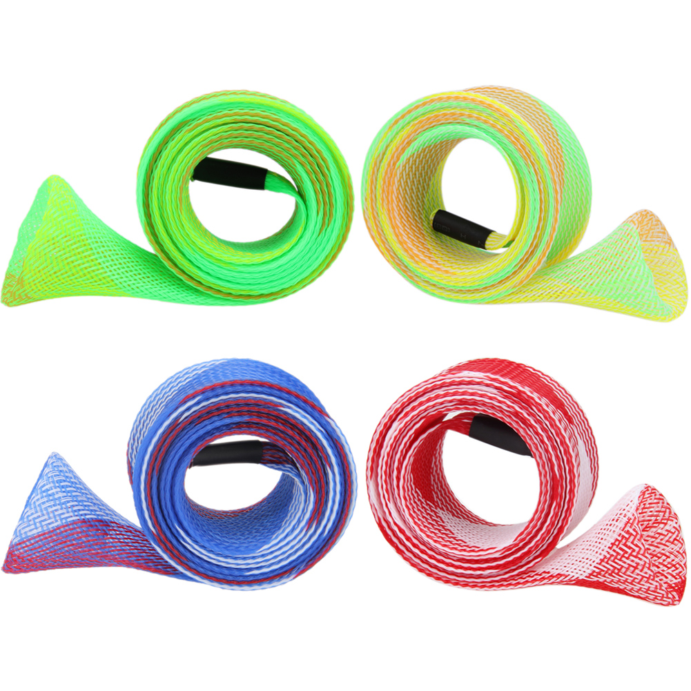 1 Pc Expandable 160cm Anti-slip Rod Covers Accessories Casting Fishing Rod Sleeves Pole Glove Clothes Protector Fishing Tool