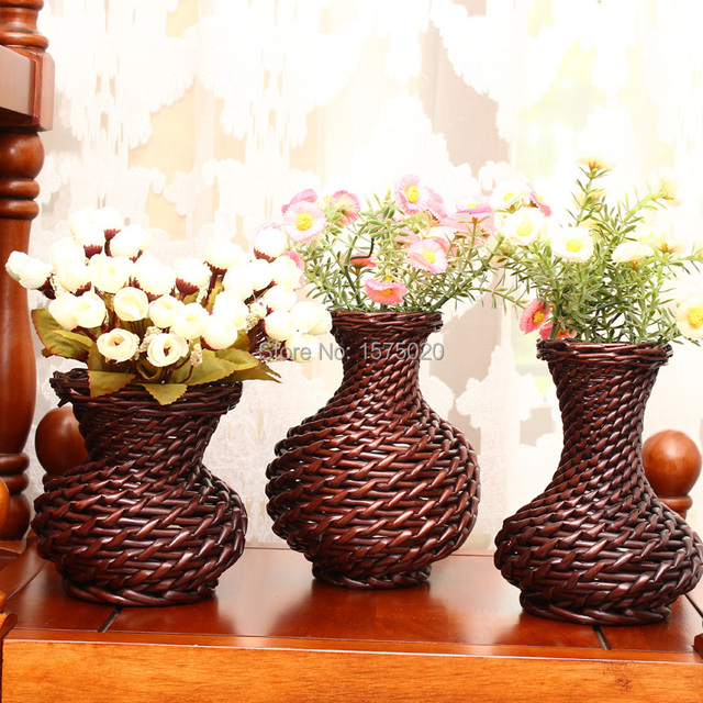 Hot sales chinese handicraft wicker crafts vases for wedding hot sales chinese handicraft wicker crafts vases for wedding decoration flower vase home decoration accessories junglespirit Image collections