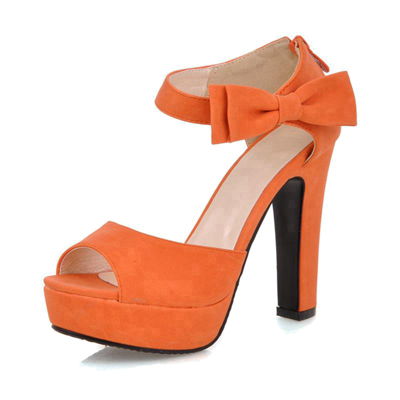 Compare Prices on Orange Platform Pumps- Online Shopping/Buy Low