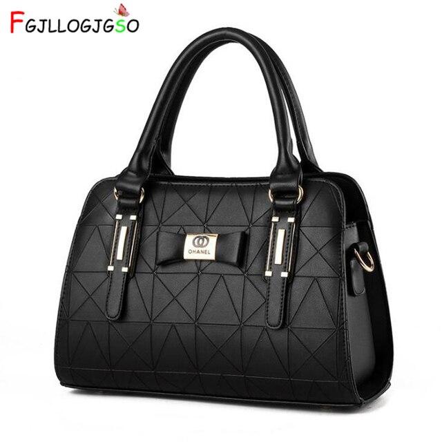 FGJLLOGJGSO New Arrival Fashion Luxury Women Handbag PU Leather Shoulder Bags Lady Large Capacity Crossbody Hand Bag Sac A Main