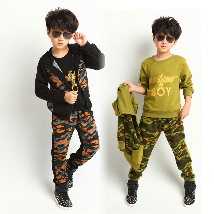 Aliexpress.com : Buy New 2014 Fashion Boys Clothes Sets Cool Kids ...