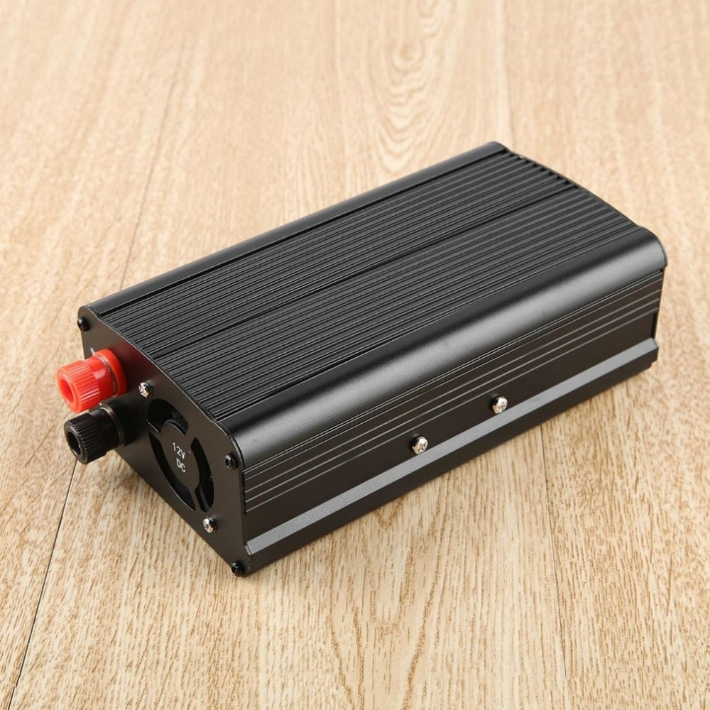 New 3000W Portable Car Power Converter 12V Input Vehicle Inverter Aluminum Alloy Power Adapter Inverter For Travelling Hot