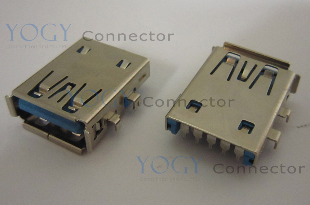 10pcs 17mm USB 3.0 Jack fit for Asus U46E U46E-BAL7 Series USB Board and other laptop motherboard female usb connector port