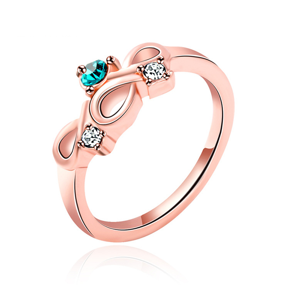 Tn 1983 Thick Real Simple But Concise Engagement Rings Girls Lovely  Geometric Midi Ring Fashion Jewelry