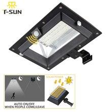 T SUNRISE 30LED Solar Licht PIR Motion Sensor Solar Gutter Licht Außen Beleuchtung Garten Solar Lampe Wasserdichte IP44 Straße Licht