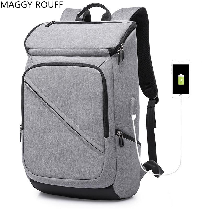 2018 Anti-Theft USB Charging 17 inch Laptop Backpack For Women Men Backpack School Backpack School Bag lowepro protactic 450 aw backpack rain professional slr for two cameras bag shoulder camera bag dslr 15 inch laptop