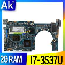 Akemy UX52VS Laptop Motherboard für Asus ZenBook UX52VS UX52V Mainboard 2G RAM I7-3537U(China)