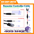 409 tienda REPETIDOR enchufe Y cable (cable) PARA YAESU CABLE para YAESU FT-8900 BJ9900 BAOJIE WALKIE TALKIE REPETIDOR MÓVIL