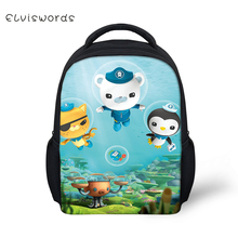 ELVISWORDS The Octonauts Printed Kids Cartoon Backpacks Small School Bag For Boys Girls Mini Cute Bags Student Bookbag