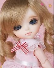 flash sale!free shipping!free makeup&eyes!top quality bjd 1/8 baby doll LATI Kuroo volks yosd hobbie toy