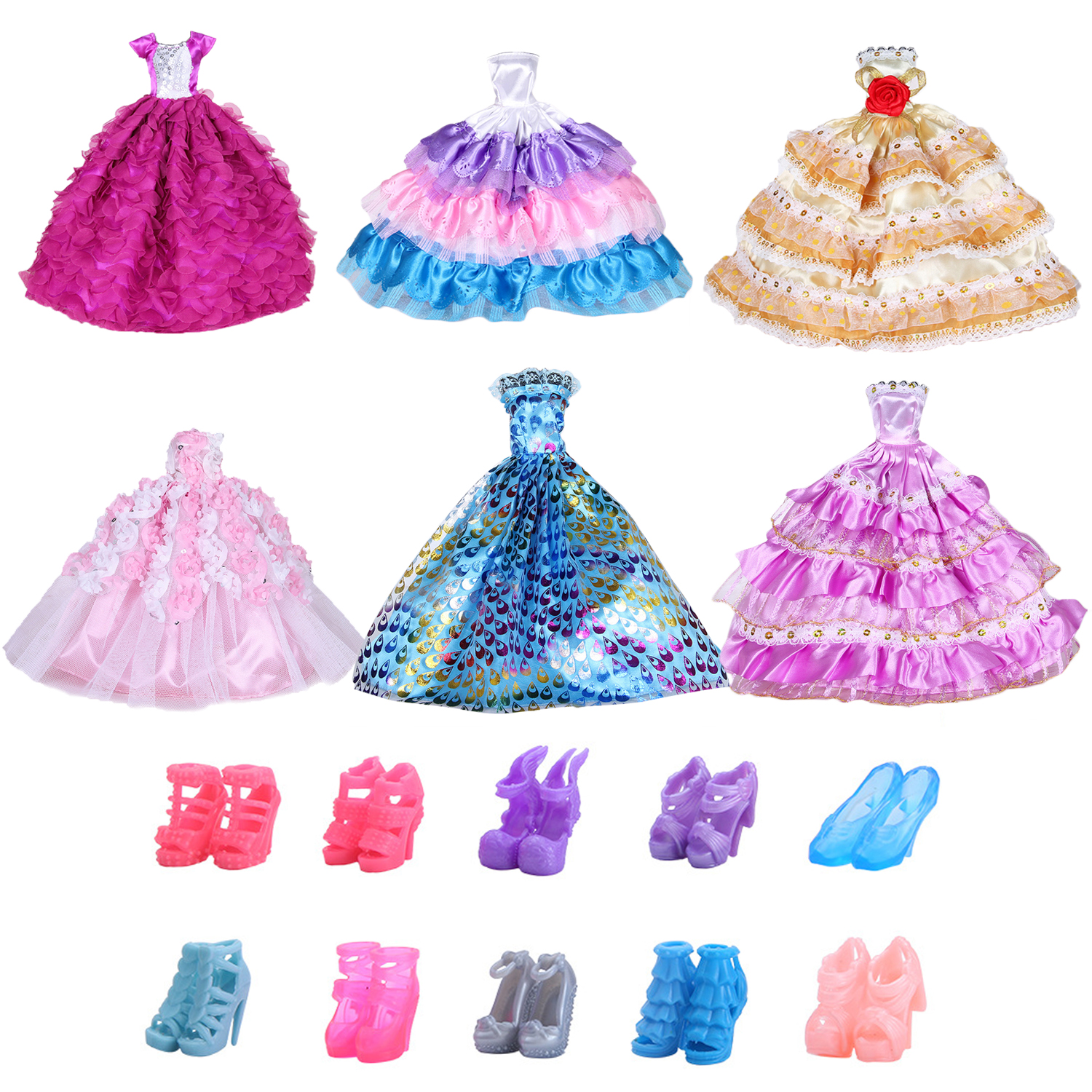 2fa18d352e Worldwide delivery barbie clothes barbie shoes in NaBaRa Online