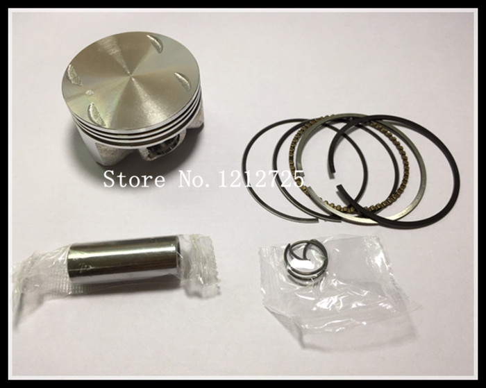 Motorcycle engine parts PULSARU 125 <font><b>Piston</b></font> <font><b>ring</b></font> assembly <font><b>Piston</b></font> diameter <font><b>52mm</b></font> pin 14mm image