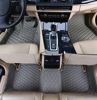 جديد! سجاد سيارة خاص مخصص لسيارة BMW 730Li 740Li 750Li 760Li طويل E66 2008 2002 سجاد داخلي للسيارة مضاد للماء ، شحن مجاني على