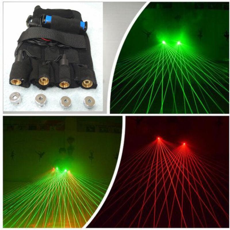 2em1 verde 532nm laser danca luvas 80 feixes show no palco dj club party show lazer