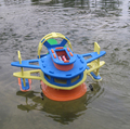 EVA puzzles scientific equipment DIY puzzle educational toys aerodynamic luxury ship amphibious ship