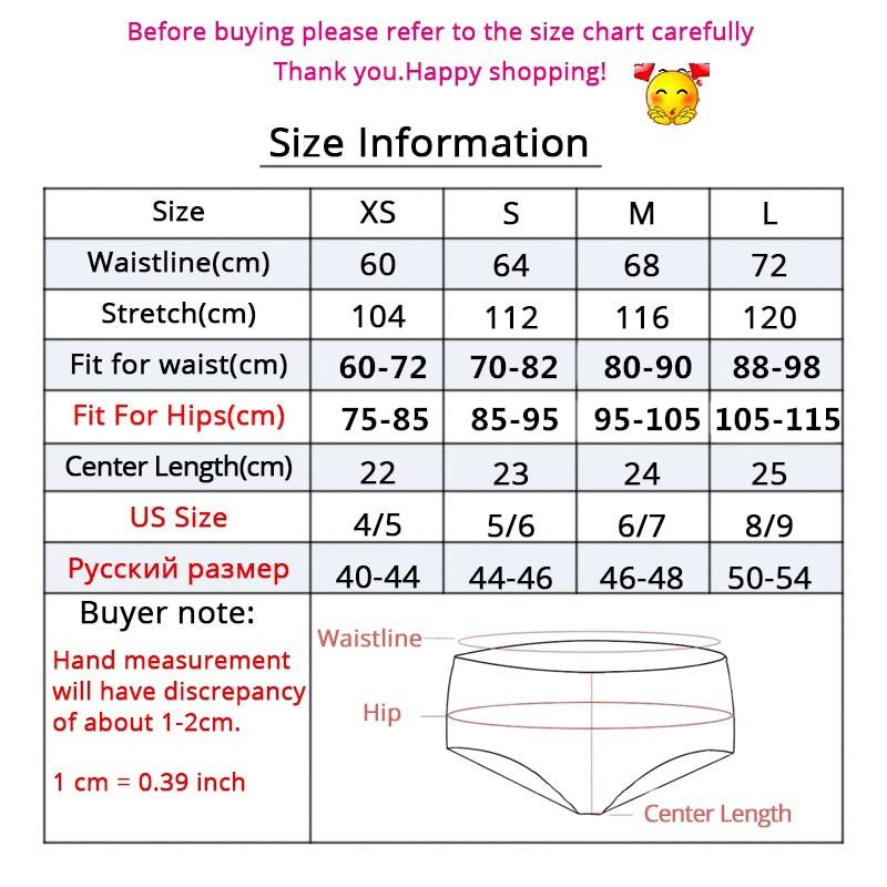 Women Panties Size Charts HD